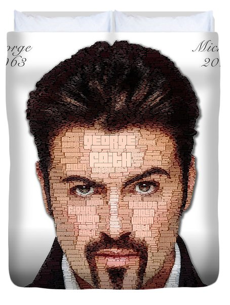George Michael Tribute Duvet Cover