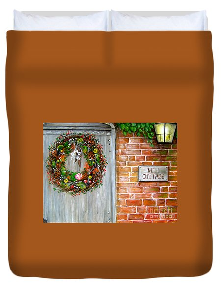 George Michaels Mill Cottage Duvet Cover