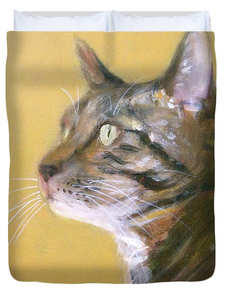 George The Cat Duvet Cover