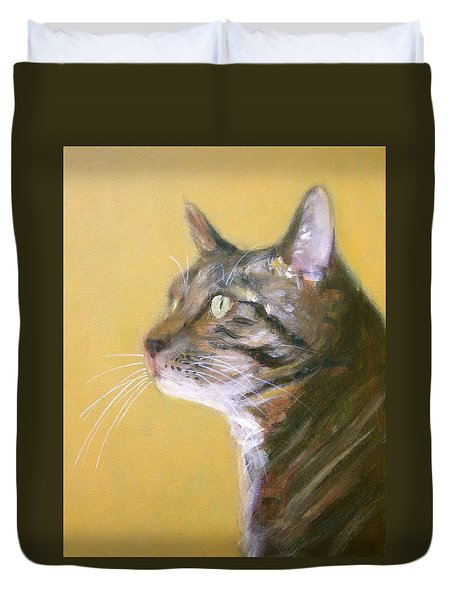 George The Cat Duvet Cover