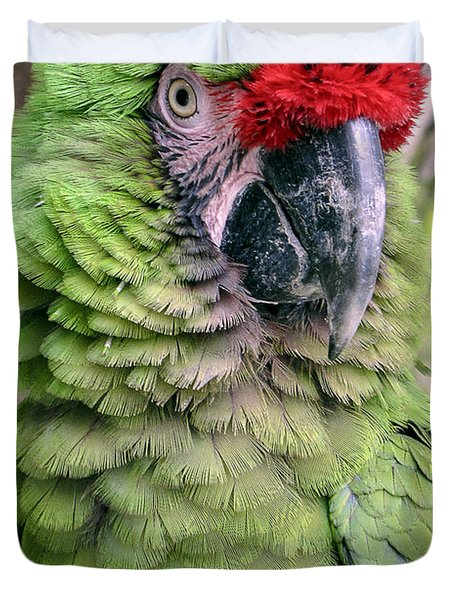 George The Parrot Duvet Cover