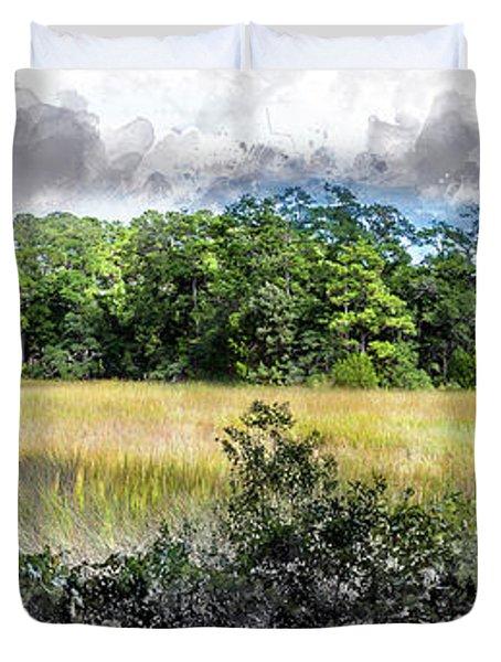 George Washington Trail Duvet Cover