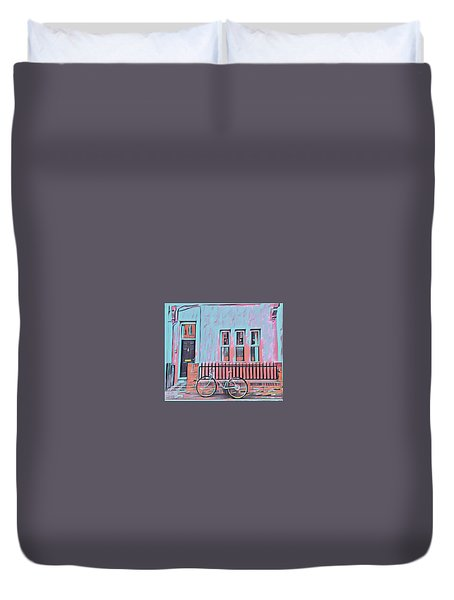 Georgetown Cycle Duvet Cover