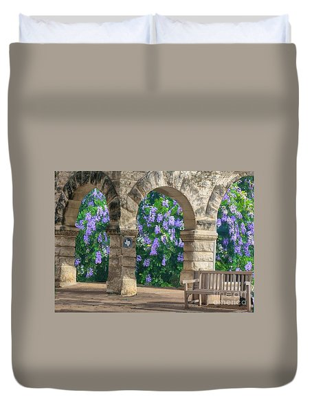 Wisteria In Georgetown, Texas  Duvet Cover