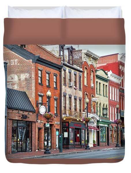 Georgetown Duvet Cover
