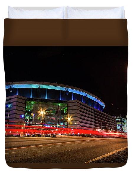 Georgia Dome Duvet Cover