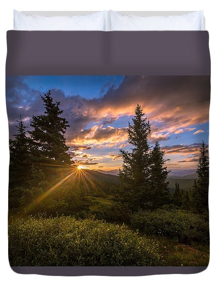 Georgia Pass Sun Rays Duvet Cover
