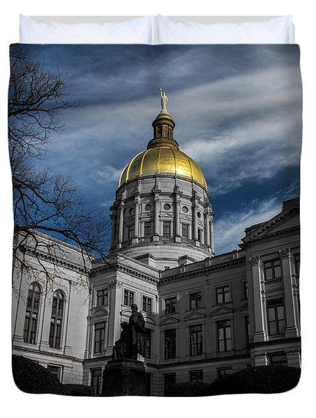 Georgia State Capital Duvet Cover