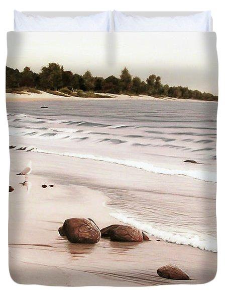 Georgian Bay Beach Duvet Cover