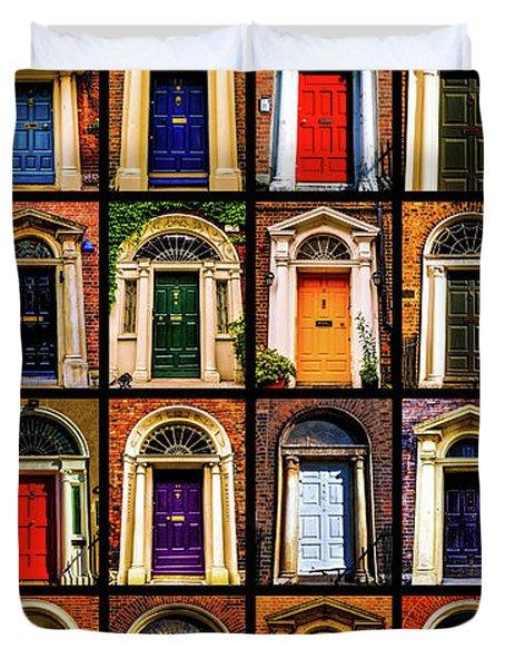 Georgian Doors Of Dublin 3 Duvet Cover
