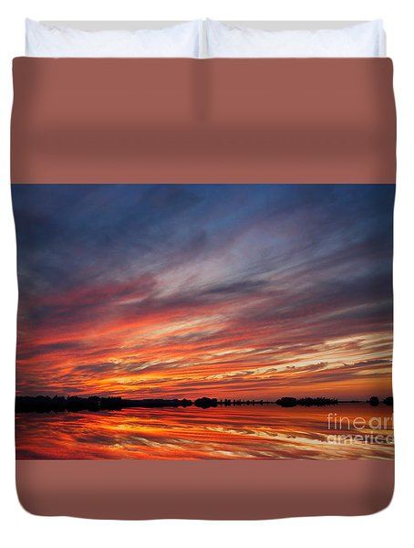 Meditative Sky Duvet Cover