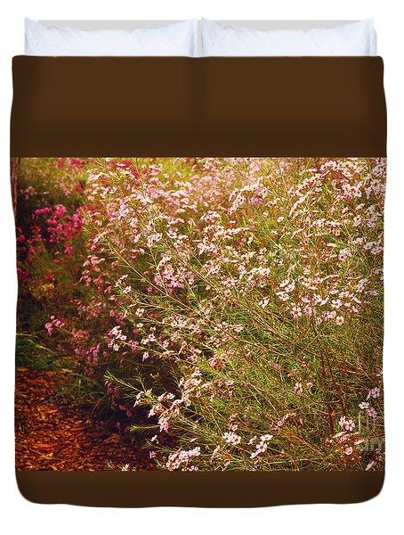 Geraldton Wax Shades Duvet Cover