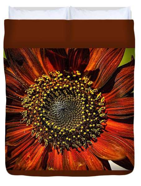 Gerber Daisy Full On Duvet Cover