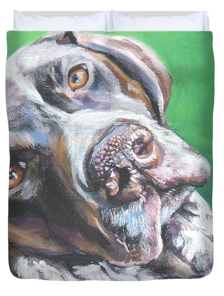 German Shorthaired Pointer Duvet Cover