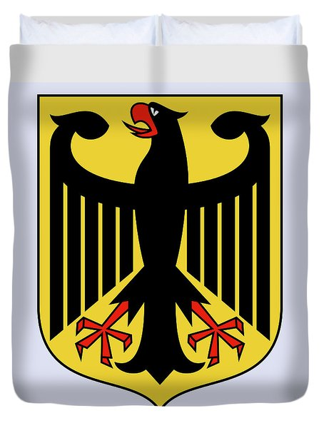 Germany Coat Of Arms Duvet Cover by Movie Poster Prints