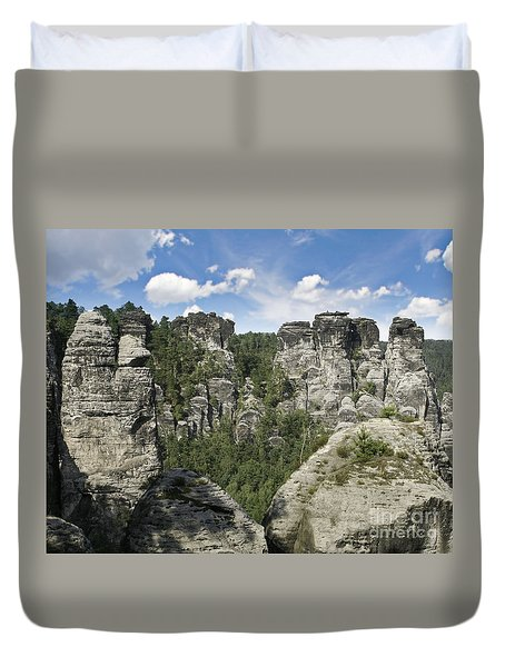 Germany Landscape Duvet Cover