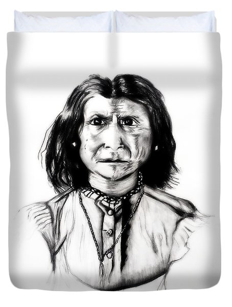 Geronimo Duvet Cover by Ayasha Loya