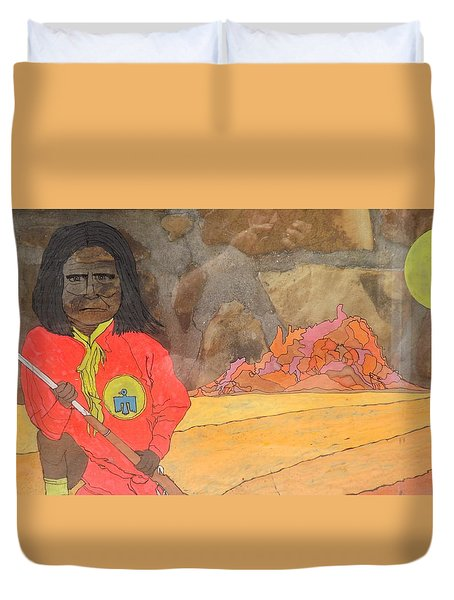 Geronimo Duvet Cover