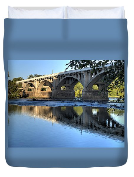 Gervais Street Bridge-1 Duvet Cover