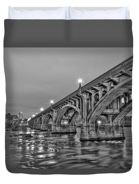 Gervais Street Bridge II Duvet Cover