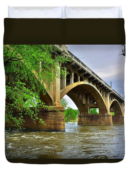 Gervais Street Bridge Duvet Cover