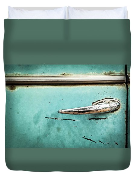 Get A Handle On It Duvet Cover