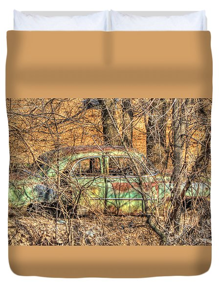 Get Away Car Duvet Cover