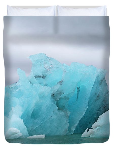 Get Inspired Glacier Lagoon Duvet Cover