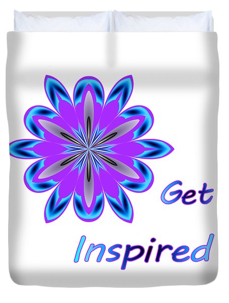 Get Inspired Duvet Cover