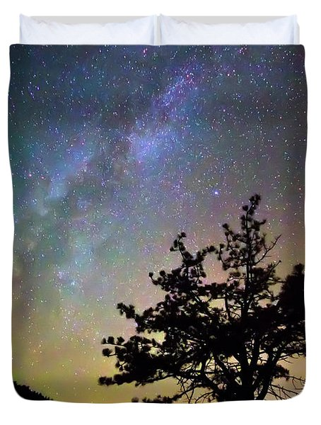 Get Lost In Space Duvet Cover