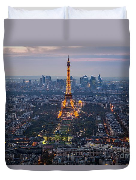 Get Ready For The Show Duvet Cover by Giuseppe Torre