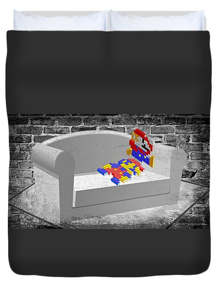 Get Up And Play Duvet Cover