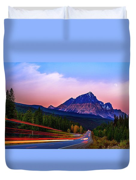 Duvet Cover featuring the photograph Get Your Motor Running by John Poon