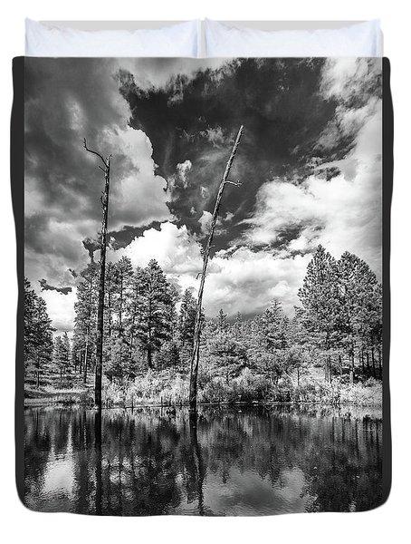 Duvet Cover featuring the photograph Getaway by Rick Furmanek