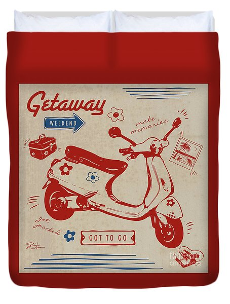 Getaway Weekend Duvet Cover