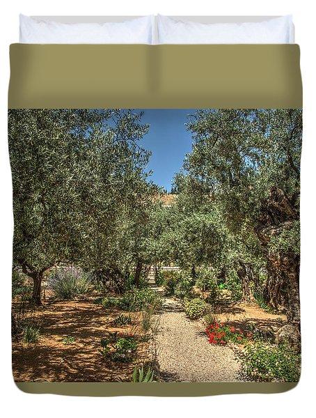 Gethsemane Gardens 2 Duvet Cover