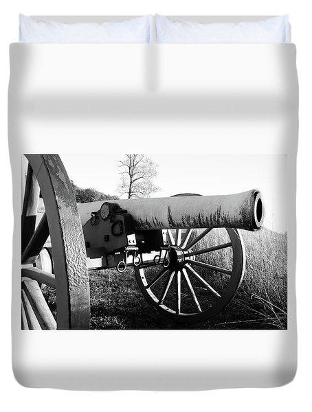 Gettysburg Cannon Duvet Cover