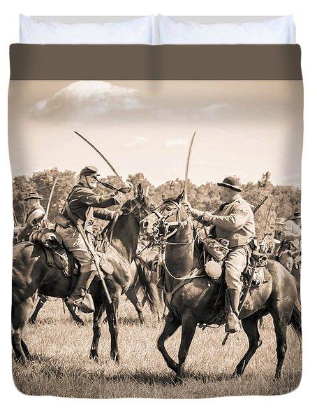 Gettysburg Cavalry Battle 7978s  Duvet Cover