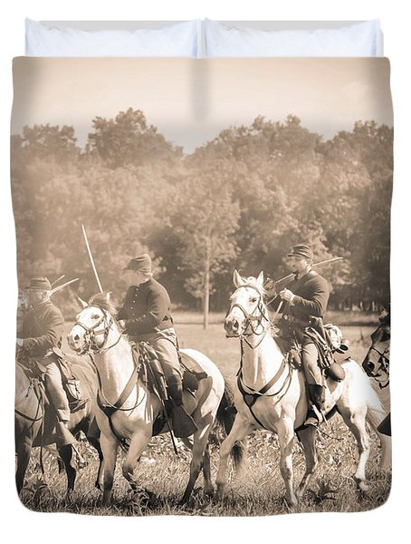 Gettysburg  Union Cavalry 7901s  Duvet Cover