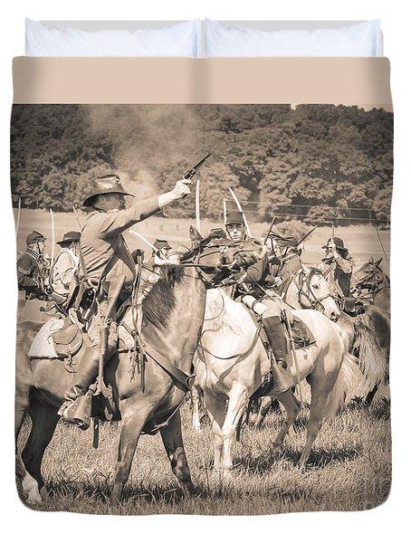 Gettysburg  Union Cavalry 7920s  Duvet Cover