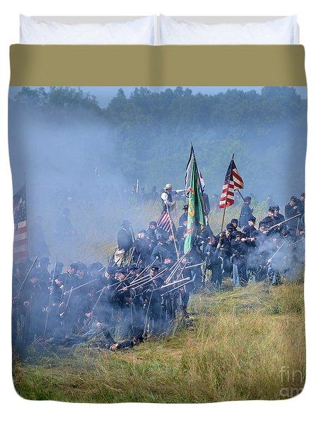 Gettysburg Union Infantry 8947c Duvet Cover