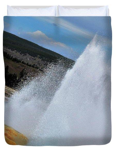 Geyser Duvet Cover