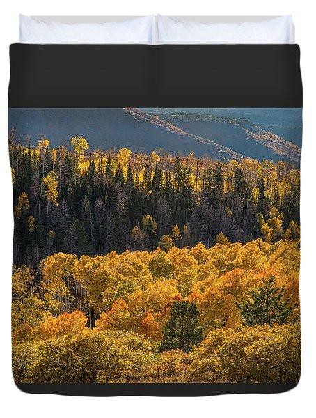 Geyser Pass Road, La Sal Mountains Duvet Cover