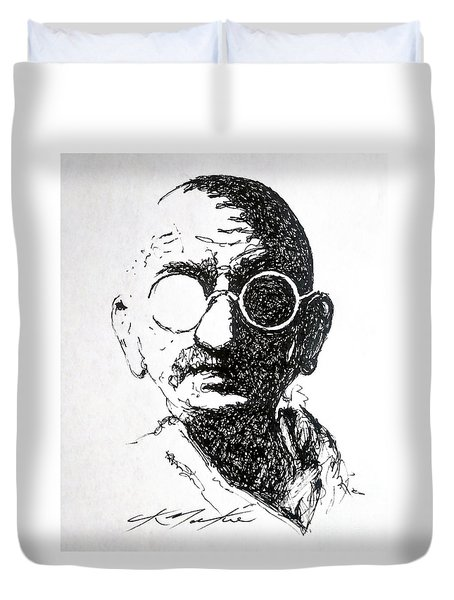 Ghandi Duvet Cover