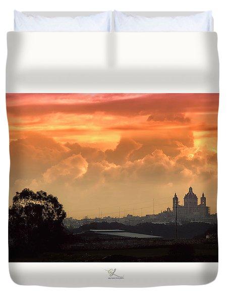 Ghaxaq Sebh - Delightful Sunrise Duvet Cover