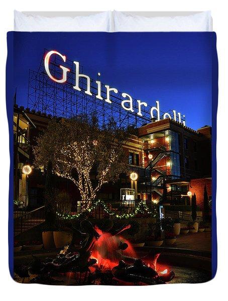 Ghirardelli Square Duvet Cover