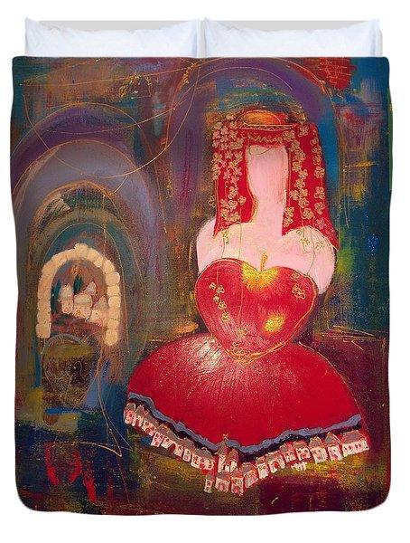 Ghismonda Duvet Cover