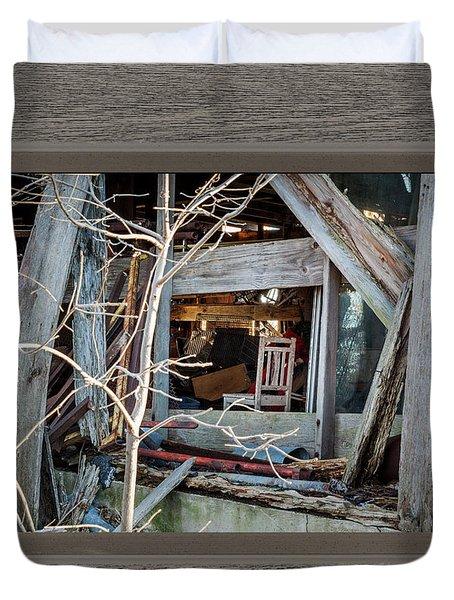 Ghost Chair Duvet Cover