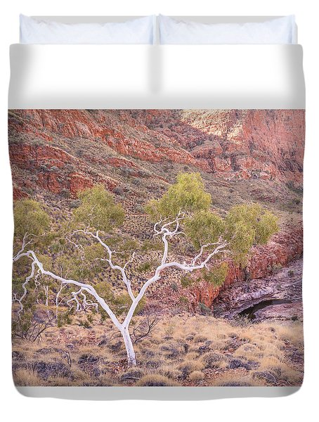 Ghost Gum Duvet Cover