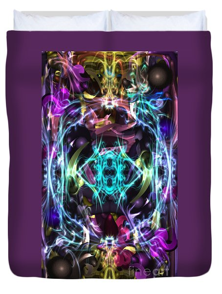 Ghost In The Machine Duvet Cover